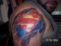 superman tattoos for women | Superman Tattoos – Designs and Ideas