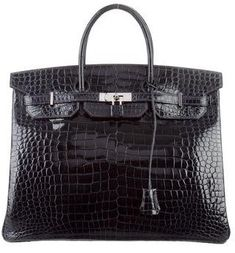 a42adb422f2b Hermes Porosus Crocodile Birkin 40 Mens Tote Bag