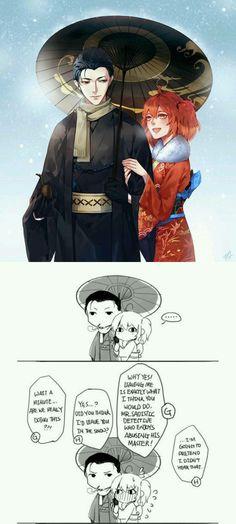 Sherlock and Gudako