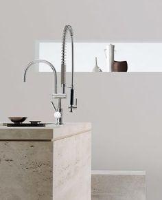 Modern Kitchen Design, Modern Design, Sink, Home Decor, Sink Tops, Vessel Sink, Decoration Home, Room Decor, Contemporary Design