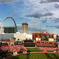 Busch Stadium. The most beautiful sight you'll see! ahhhh!