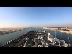 Watch as USS Kearsarge transits the Suez Canal...in 60 seconds!