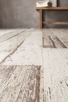 Skandi Original Weathered Porcelain Planks for creating the perfect authentic wood floor | Mandarin Stone