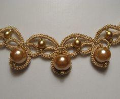 CHIACCHIERINO - Gioielli di chiacchierino, collana con perle