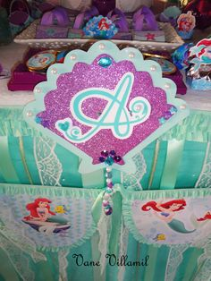 """Photo 50 of 51: The Little Mermaid / Birthday """"the little mermaid""""   Catch My Party"""