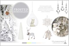 Christmas Trend Board 2015 - Frosted Wonderland