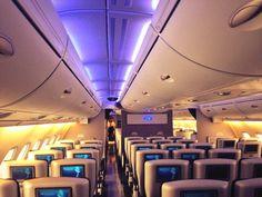 A380 British Airways World Traveller Plus - love how premium it looks!
