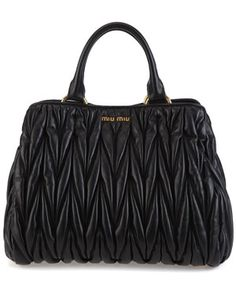 Miu Miu 'Matelasse' Leather Bag
