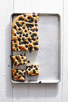 From a savory brunch dish to a hearty dinner side, this unique blueberry rosemary focaccia recipe embodies both savory and sweet flavors.