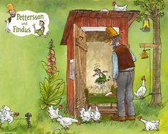 Bildschirmhintergründe | Pettersson und Findus
