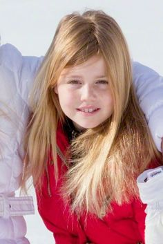 Princess Alexia of The Netherlands during the wintersport holidays in Lech am Arlberg, Austria, 23.02.2015
