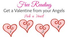 Get a sweet message from the Angels for Valentine's Day. I picked #4. What did you pick?