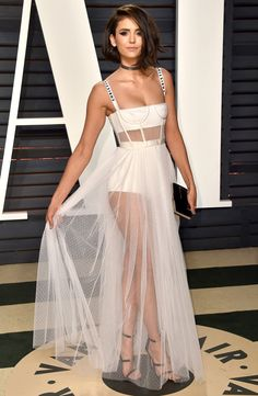 102 Awesome Oscars Weekend Outfits You Didn't See - but Can't Miss - Nina Dobrev in Dior