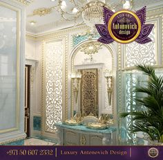 Looking for the best bathroom idea for you home?Be inspired by this gentle bathroom with royal gold accents! For more inspirational ideas take a look at: http://www.antonovich-design.ae/ ☎️ +971 50 607 2332 Contact us now! #antonovichdesign, #interiordesign, #design, #homestyle, #housedesign, #interior, #bathroom, #abudhabi, #dubai, #dubaistyle, #dubailife, #room, #designyourhome