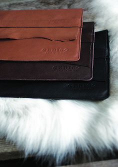 Gedigo Piece of Finland iPad cover A combination of modern Finnish design and Arctic mysteries.fi Mobile covers made of reindeer leather.