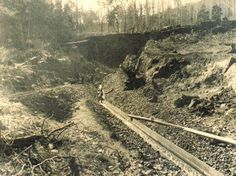 This page on Cygnet gives a short account of the geology and Cygnet gold mining history. and the discovery of the area by Dentrecasteua. Van Diemen's Land, Tasmania, Geology, Railroad Tracks, Acre, Australia, Gold Rush, History, Artists