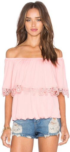 VAVA by Joy Han Bambi Off Shoulder Top