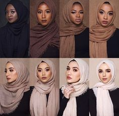 Ideas style korean girl hijab for 2019 - outfit.tophaarmodelle - M MISM Ethnic Oversize Muslim Crinkle Hijab Head Scarf Women Solid Bubbleintothea Turban Hijab, Hijab Musulman, Mode Turban, Hijab Mode, Muslim Hijab, Hijab Chic, Hijab Dress, Hijab Outfit, Hijab Makeup