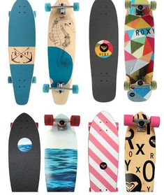 ¤ ROXY. Longboarding dream. I want the Seahorse one!