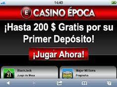 Sólo en Casino Epoca te damos más para que Ganes. Tan sólo con tu primer deposito puedes obtener hasta $200 dólares para jugar