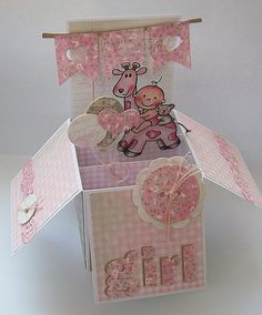 It's a girl! by Alina44 - Cards and Paper Crafts at Splitcoaststampers