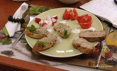 Padlizsános gombakrém French Toast, Chicken, Breakfast, Food, Morning Coffee, Essen, Meals, Yemek, Eten