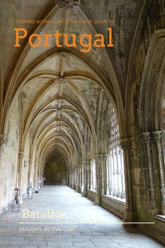 The cloisters in the Bathala Monastery in Portugal. Portugal, Walker Zanger, The Cloisters, Abandoned Buildings, Beautiful Buildings, Vaulting, Old Houses, Barcelona Cathedral, Taj Mahal