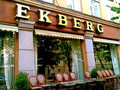 Cafe Ekberg, Helsinki. A classic and old cafe.