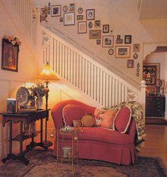 Mary Engelbreit portrait wall.