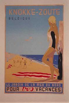 Knokke-Zoute, Belgique, Le jardin de la mer du nord pour vos vacances. - AFFTOXX00001