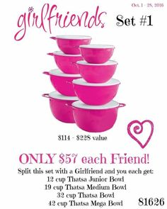 Set #1 to share with a friend or buy all have on hand for gifts!!