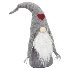 Inspiration:Archipelago Gonk Grey Hat - What you see is what you get with this gonk. Love his little heart.
