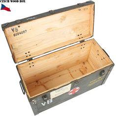 【注目商品】実物チェコ軍ウッドボックスVZOR60P丈夫な作りのチェコ軍放出木製BOX収納力もあり様々な物が詰め込めます【ミリタリーアイテム】【軍物】【中古】