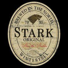 Stark Original Beer Label