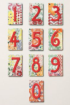 Polychromatic Numbers