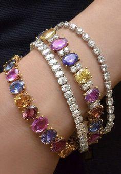 Stone Jewelry, Crystal Jewelry, Gold Bangles, Bangle Bracelets, Bling Bra, Gem Diamonds, Luxury Jewelry, Jewelery, Jewelry Accessories
