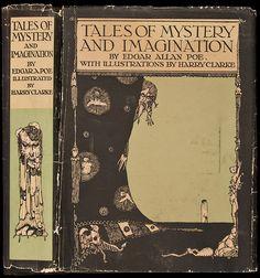 Vintage Poe covers