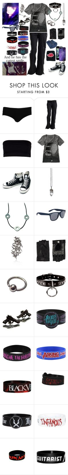 """""""Truth and dare with the guys. Should I be regretting this?"""" by rukiakuchiki12341 ❤ liked on Polyvore featuring STELLA McCARTNEY, Bench, AllSaints, Glamour Kills, Converse, Retrò, INC International Concepts, River Island, Friis & Company and Hot Topic"""