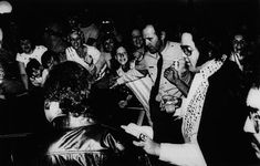 February 13, 1977   Elvis Heading to the Auditorium, West Palm Beach Florida.