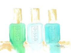 Essie Collection in Watercolor, $18