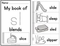 Flip books to teach blends and digraphs! Contains 19 different blends and 4 digraphs. Photocopier friendly!