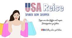 Spare beim Einkaufen in den USA