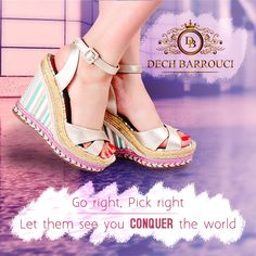 a1c898d12b4b Dech Barrouci · Wedge Heels · Go right