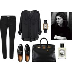 ... by tomorrowsparties on Polyvore featuring H&M, Gucci, Hermès and Diptyque