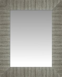 Wide Brushed Nickel Silver Wall Mirror, Size 21 X 25 -- You can find more details by visiting the image link. (This is an affiliate link and I receive a commission for the sales)