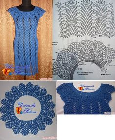Crochet dress...horgolt ruha
