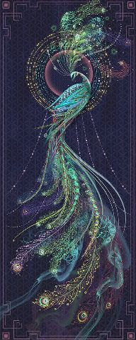 though this is a peacock something like this in reds & oranges would make an awesome firebird illustration Fantasy Kunst, Fantasy Art, Pfau Tattoo, Art Fractal, Peacock Tattoo, Tattoo Feather, Tattoo Bird, Inspiration Art, Wow Art