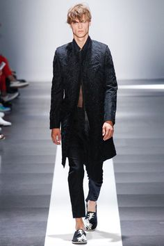 Ann Demeulemeester | Spring 2015 Menswear Collection | Style.com