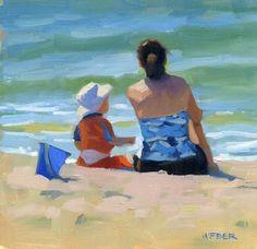 """The blue bucket"" - Original Fine Art for Sale - © Kathy Weber"