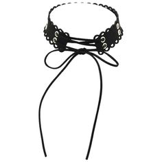 Black Color Suede Chain Choker Necklaces ❤ liked on Polyvore featuring jewelry, necklaces, suede jewelry, chain choker necklace, chains jewelry, suede choker necklace and choker jewelry